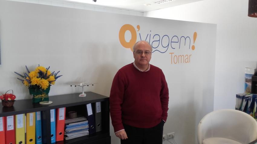 Rui Vieira - proprietário da QViagem!