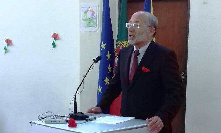 António Gomes Mor na Assembleia Municipal do 25 de Abril de 2019