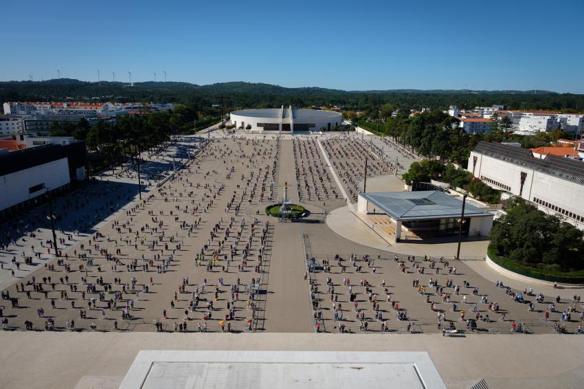 Créditos: Santuário de Fátima (11-10-2020)