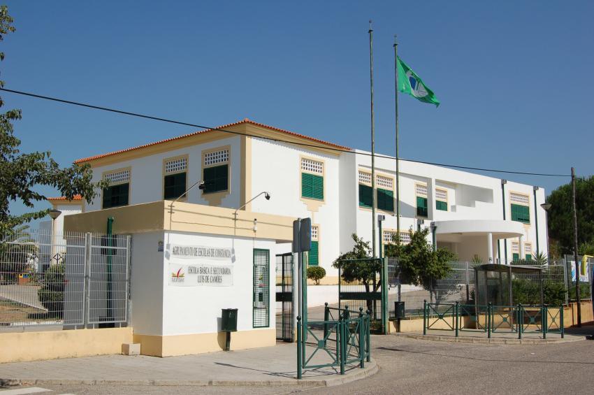 Escola Básica e Secundária Luís de Camões (DR)
