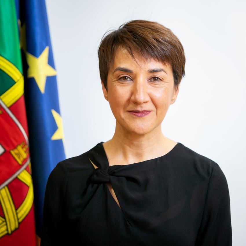 Ministra da Agricultura: Maria do Céu Albuquerque