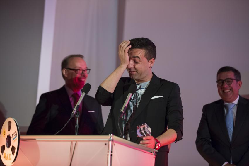 David Antunes emocionou-se ao dizer o que sentia naquele momento