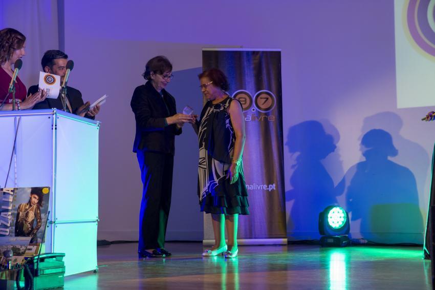 Teresa Aparicio entrega Galardão a Helena Bandos
