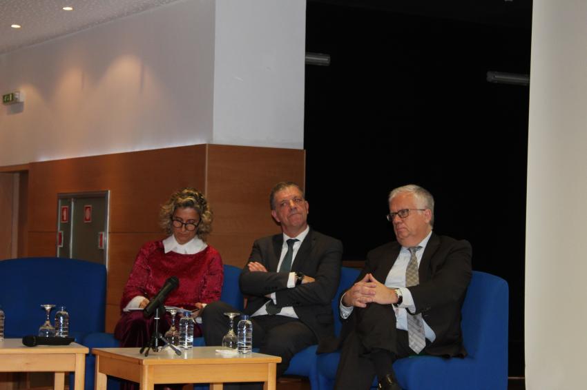 Ana Abrunhosa com Vasco Estrela e Eduardo Cabrita