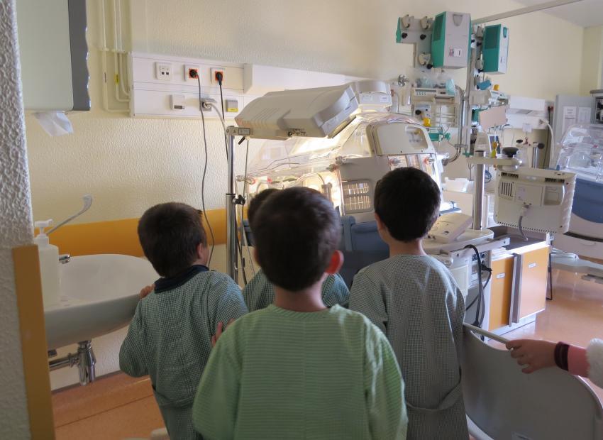 CHMT - Visita ao serviço de Neonatologia - Abrantes