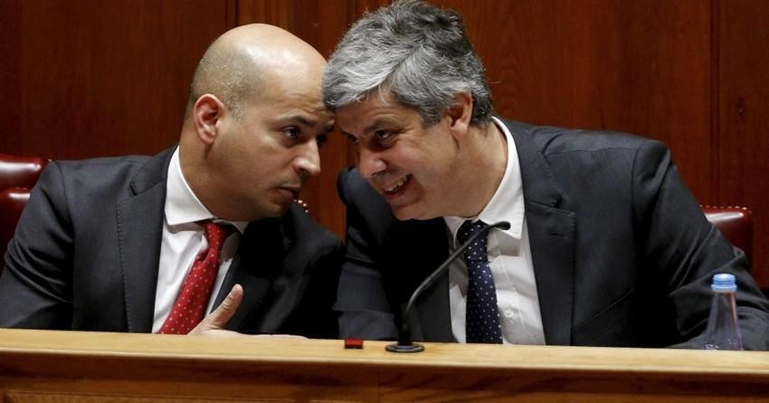 João Leão e Mário Centeno (Créditos: DR)