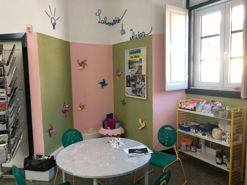 Laboratório de Ideias - Biblioteca Municipal de Constância