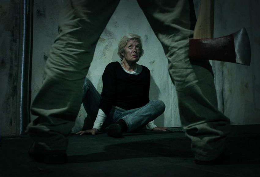 Irene Cruz numa cena do filme