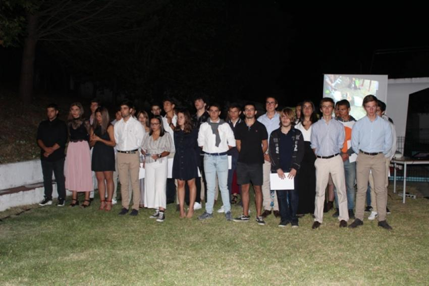 Jovens do 10º Curso de Liderança do Rotary Clube de Abrantes